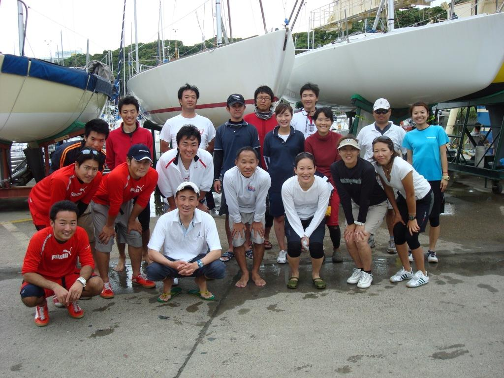 Japanese J24 Sailors