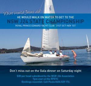 NSW J24 State Championship eblast