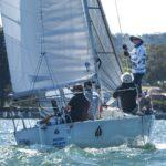 J 24's Spring regatta Gosford